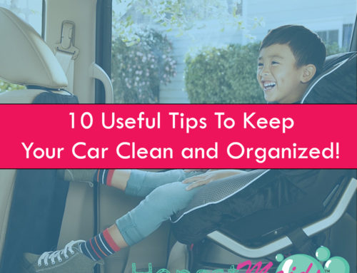 10 Useful Tips That'll Keep Your Car Clean And Organized